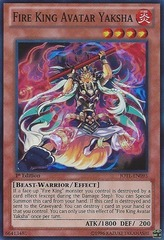Fire King Avatar Yaksha - JOTL-EN095 - Super Rare - 1st Edition