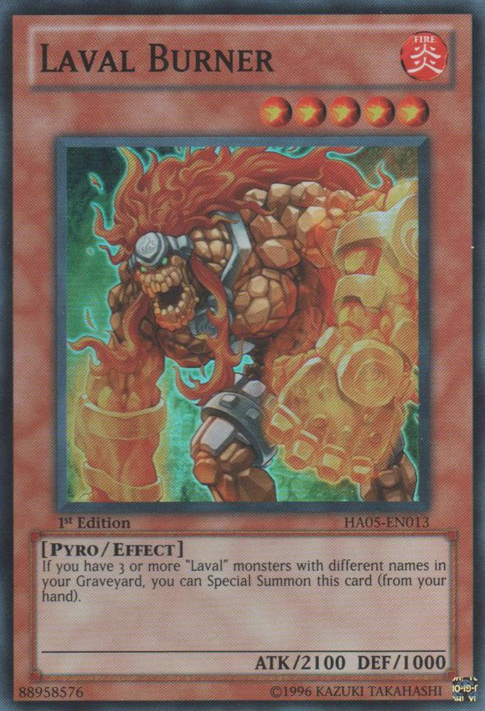 HA05-EN027 Searing Fire Wall Super Rare Unlimited Edition Mint YuGiOh Card