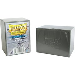 Dragon Shield: Deckbox - Silver (ATMDSH20008)