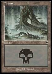 Swamp - Foil (341)(INV)