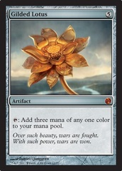 Gilded Lotus - Foil on Channel Fireball