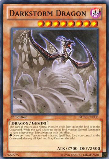 Darkstorm Dragon - SDBE-EN008 - Common - 1st