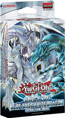 Yu-Gi-Oh Structure Deck: Saga of Blue Eyes White Dragon - 1st Edition
