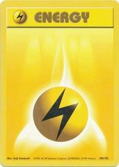 Lightning Energy - 100/102 - Common - Unlimited Edition