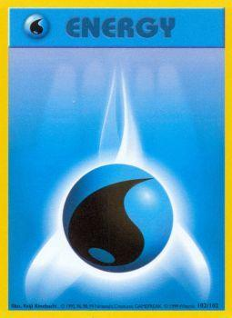Water Energy - 102/102 - Common - Unlimited Edition