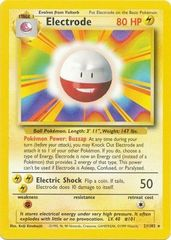 Electrode - 21/102 - Rare - Unlimited Edition