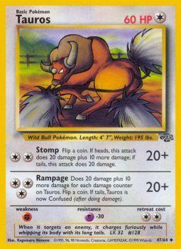 Tauros - 47/64 - Uncommon - Unlimited Edition