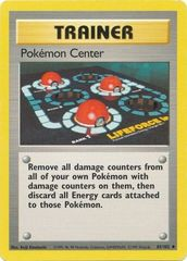 Pokemon Center - 85/102 - Uncommon - Unlimited Edition