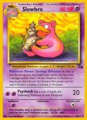 Slowbro - 43/62 - Uncommon - Unlimited Edition