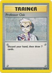 Professor Oak - 88/102 - Uncommon - Unlimited Edition