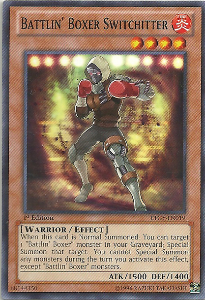 Battlin' Boxer Switchitter - LTGY-EN019 - Common - Unlimited Edition