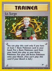 Lt. Surge - 17/132 - Holo Rare - Unlimited Edition