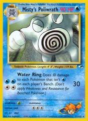 Misty's Poliwrath - 31/132 - Rare - Unlimited Edition