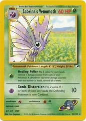 Sabrina's Venomoth - 34/132 - Rare - Unlimited Edition