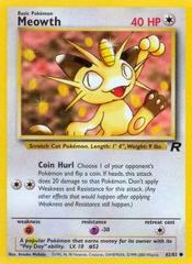 Meowth - 62/82 - Common - Unlimited Edition