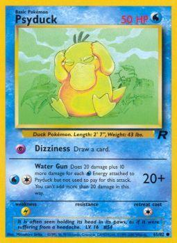Psyduck - 65/82 - Common - Unlimited Edition