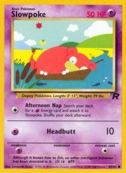 Slowpoke - 67/82 - Common - Unlimited Edition