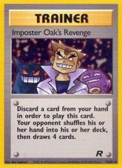 Imposter Oak's Revenge - 76/82 - Uncommon - Unlimited Edition