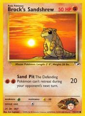Brock's Sandshrew - 72/132 - Common - Unlimited Edition