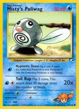 Mistys Poliwag - 87/132 - Common - Unlimited Edition