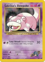 Sabrina's Slowpoke - 95/132 - Common - Unlimited Edition