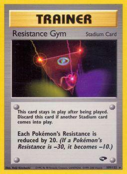 Resistance Gym - 109/132 - Rare - Unlimited Edition