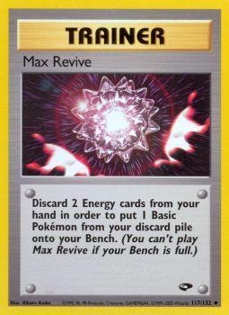 Max Revive - 117/132 - Uncommon - Unlimited Edition