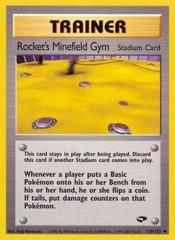 Rocket's Minefield Gym - 119/132 - Uncommon - Unlimited Edition
