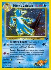 Misty's Golduck - 12/132 - Holo Rare - Unlimited Edition