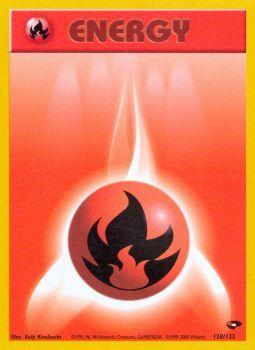 Fire Energy - 128/132 - Common - Unlimited Edition