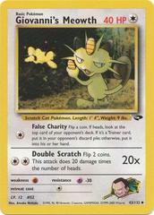 Giovanni's Meowth - 43/132 - Uncommon - Unlimited Edition