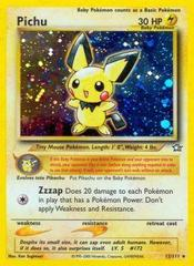 Pichu - 12/111 - Holo Rare - Unlimited Edition