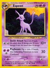 Espeon - 20/75 - Rare - Unlimited Edition