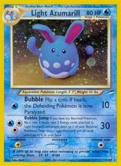 Light Azumarill - 13/105 - Holo Rare - Unlimited Edition