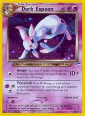 Dark Espeon - 4/105 - Holo Rare - Unlimited Edition