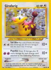 Girafarig - 66/105 - Common - Unlimited Edition on Channel Fireball