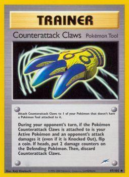 Counterattack Claws - 97/105 - Uncommon - Unlimited Edition