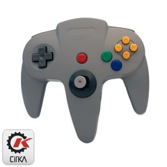 Accessory: Controller Cirka Grey N64