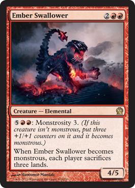 Ember Swallower - Foil