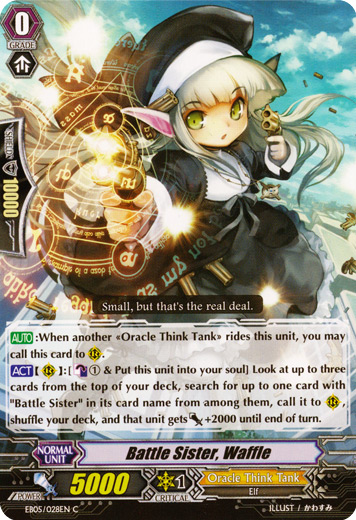 Battle Sister, Waffle - EB05/028EN - C