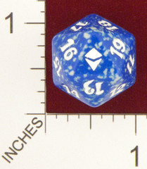 Magic Spindown Die - Zendikar Blue