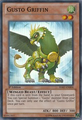 Gusto Griffin - HA07-EN004 - Super Rare - Unlimited Edition