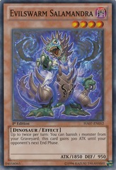 Evilswarm Salamandra - HA07-EN052 - Super Rare - Unlimited Edition