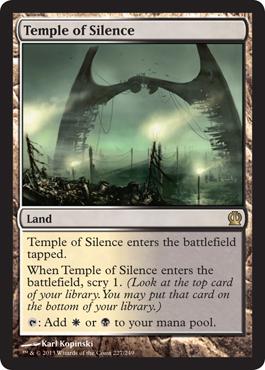 Temple of Silence - Foil