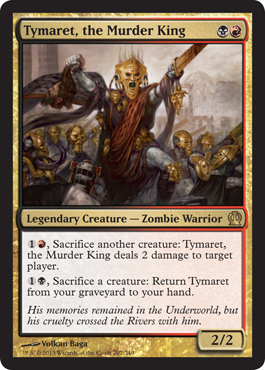 Tymaret, the Murder King - Foil