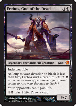 Erebos, God of the Dead - Foil