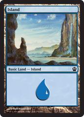 Island - Foil (234)(THS)