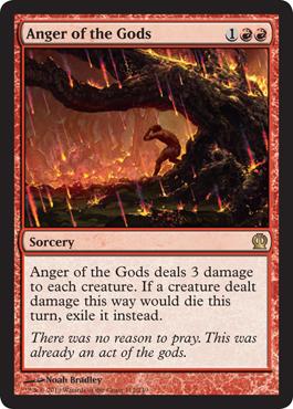 Anger of the Gods - Foil
