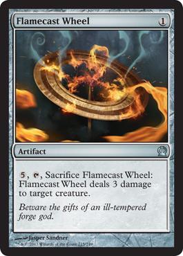Flamecast Wheel