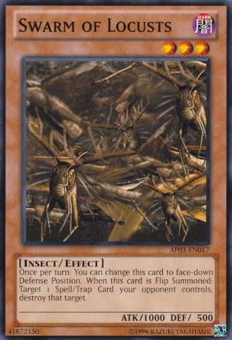 Swarm of Locusts - AP03-EN017 - Common - Unlimited Edition